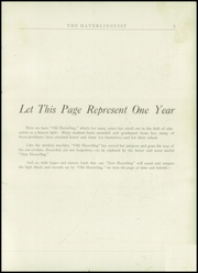 Page 5, 1924 Edition, Haverling Central High School - Haverlinguist Yearbook (Bath, NY) online yearbook collection