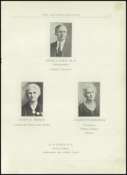 Page 9, 1924 Edition, Haverling Central High School - Haverlinguist Yearbook (Bath, NY) online yearbook collection