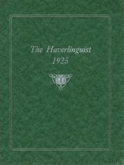 Page 1, 1925 Edition, Haverling Central High School - Haverlinguist Yearbook (Bath, NY) online yearbook collection