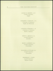 Page 10, 1925 Edition, Haverling Central High School - Haverlinguist Yearbook (Bath, NY) online yearbook collection