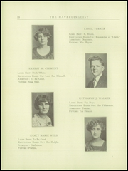 Page 12, 1925 Edition, Haverling Central High School - Haverlinguist Yearbook (Bath, NY) online yearbook collection