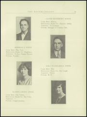 Page 13, 1925 Edition, Haverling Central High School - Haverlinguist Yearbook (Bath, NY) online yearbook collection