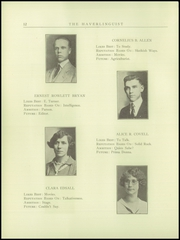 Page 14, 1925 Edition, Haverling Central High School - Haverlinguist Yearbook (Bath, NY) online yearbook collection