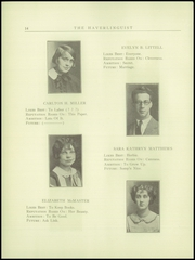 Page 16, 1925 Edition, Haverling Central High School - Haverlinguist Yearbook (Bath, NY) online yearbook collection