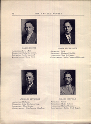 Page 16, 1926 Edition, Haverling Central High School - Haverlinguist Yearbook (Bath, NY) online yearbook collection