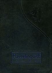 Page 1, 1935 Edition, Haverling Central High School - Haverlinguist Yearbook (Bath, NY) online yearbook collection