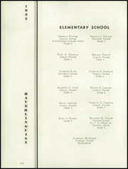 Page 14, 1935 Edition, Haverling Central High School - Haverlinguist Yearbook (Bath, NY) online yearbook collection