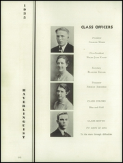 Page 16, 1935 Edition, Haverling Central High School - Haverlinguist Yearbook (Bath, NY) online yearbook collection