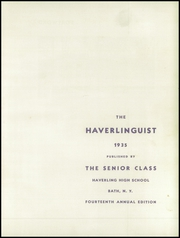 Page 5, 1935 Edition, Haverling Central High School - Haverlinguist Yearbook (Bath, NY) online yearbook collection