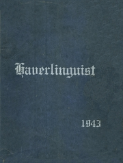 Page 1, 1943 Edition, Haverling Central High School - Haverlinguist Yearbook (Bath, NY) online yearbook collection