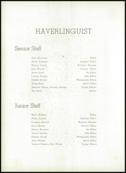 Page 6, 1951 Edition, Haverling Central High School - Haverlinguist Yearbook (Bath, NY) online yearbook collection