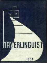 Page 1, 1954 Edition, Haverling Central High School - Haverlinguist Yearbook (Bath, NY) online yearbook collection