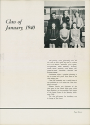 Page 15, 1940 Edition, Binghamton North High School - Wampum Yearbook (Binghamton, NY) online yearbook collection