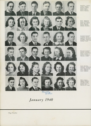 Page 16, 1940 Edition, Binghamton North High School - Wampum Yearbook (Binghamton, NY) online yearbook collection
