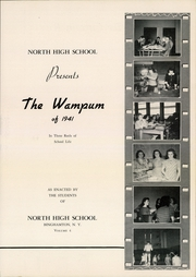 Page 7, 1941 Edition, Binghamton North High School - Wampum Yearbook (Binghamton, NY) online yearbook collection