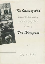 Page 7, 1943 Edition, Binghamton North High School - Wampum Yearbook (Binghamton, NY) online yearbook collection