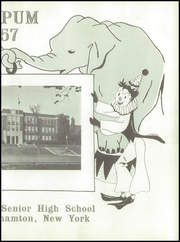 Page 7, 1957 Edition, Binghamton North High School - Wampum Yearbook (Binghamton, NY) online yearbook collection