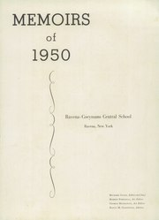 Page 7, 1950 Edition, Ravena Coeymans Selkirk High School - Memoirs Yearbook (Ravena, NY) online yearbook collection