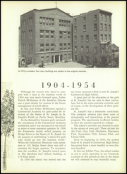 Page 15, 1954 Edition, St Joseph Commercial High School - Parmentier Yearbook (Brooklyn, NY) online yearbook collection
