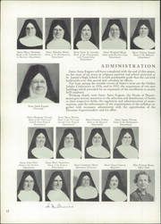 Page 16, 1956 Edition, St Joseph Commercial High School - Parmentier Yearbook (Brooklyn, NY) online yearbook collection