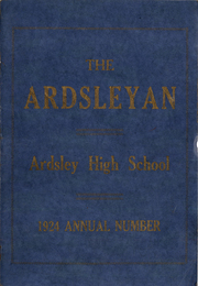 Page 1, 1924 Edition, Ardsley High School - Ardsleyan Yearbook (Ardsley, NY) online yearbook collection