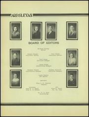 Page 10, 1937 Edition, Ardsley High School - Ardsleyan Yearbook (Ardsley, NY) online yearbook collection