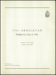 Page 5, 1941 Edition, Ardsley High School - Ardsleyan Yearbook (Ardsley, NY) online yearbook collection
