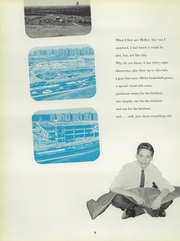 Page 10, 1958 Edition, Archbishop Molloy High School - Blue and White Yearbook (Jamaica, NY) online yearbook collection