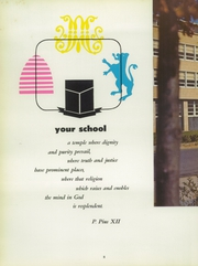 Page 12, 1958 Edition, Archbishop Molloy High School - Blue and White Yearbook (Jamaica, NY) online yearbook collection