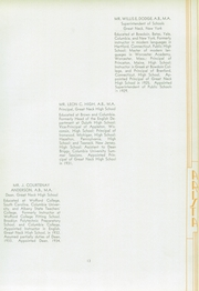 Page 17, 1935 Edition, Miller Great Neck North High School - Arista Yearbook (Great Neck, NY) online yearbook collection