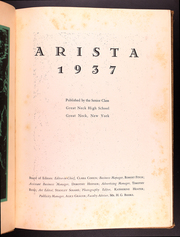 Page 7, 1937 Edition, Miller Great Neck North High School - Arista Yearbook (Great Neck, NY) online yearbook collection