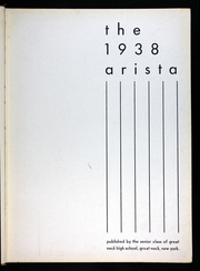 Page 7, 1938 Edition, Miller Great Neck North High School - Arista Yearbook (Great Neck, NY) online yearbook collection