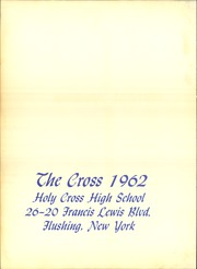 Page 4, 1962 Edition, Holy Cross High School - The Cross Yearbook (Flushing, NY) online yearbook collection