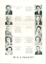 Page 14, 1947 Edition, Wellsville High School - Sonnontouan Yearbook (Wellsville, NY) online yearbook collection