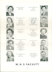 Page 16, 1947 Edition, Wellsville High School - Sonnontouan Yearbook (Wellsville, NY) online yearbook collection