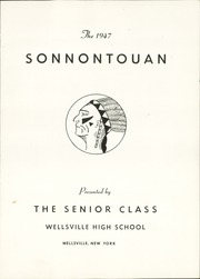 Page 5, 1947 Edition, Wellsville High School - Sonnontouan Yearbook (Wellsville, NY) online yearbook collection