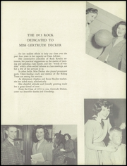 Page 11, 1953 Edition, East Rockaway High School - Rock Yearbook (East Rockaway, NY) online yearbook collection