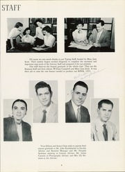 Page 13, 1955 Edition, East Rockaway High School - Rock Yearbook (East Rockaway, NY) online yearbook collection