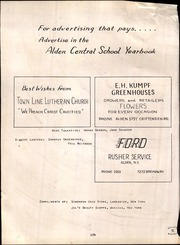 Page 106, 1952 Edition, Alden Central High School - Album Yearbook (Alden, NY) online yearbook collection
