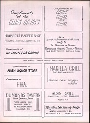 Page 97, 1952 Edition, Alden Central High School - Album Yearbook (Alden, NY) online yearbook collection