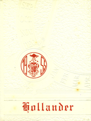 Page 1, 1955 Edition, Holland Patent Central High School - Hollander Yearbook (Holland Patent, NY) online yearbook collection