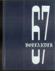 1967 Edition, Holland Patent Central High School - Hollander Yearbook (Holland Patent, NY)