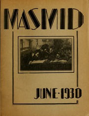 Page 1, 1930 Edition, Yeshiva University - Masmid Yearbook (New York, NY) online yearbook collection