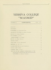 Page 5, 1930 Edition, Yeshiva University - Masmid Yearbook (New York, NY) online yearbook collection