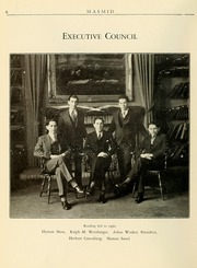 Page 8, 1930 Edition, Yeshiva University - Masmid Yearbook (New York, NY) online yearbook collection