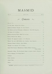 Page 7, 1934 Edition, Yeshiva University - Masmid Yearbook (New York, NY) online yearbook collection