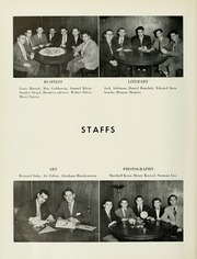 Page 10, 1952 Edition, Yeshiva University - Masmid Yearbook (New York, NY) online yearbook collection