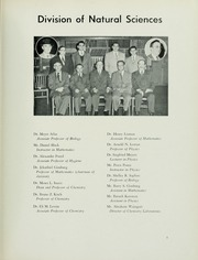 Page 13, 1952 Edition, Yeshiva University - Masmid Yearbook (New York, NY) online yearbook collection
