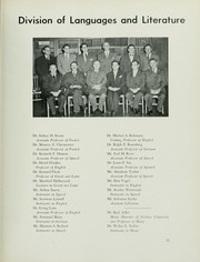 Page 15, 1952 Edition, Yeshiva University - Masmid Yearbook (New York, NY) online yearbook collection