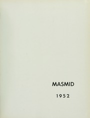 Page 5, 1952 Edition, Yeshiva University - Masmid Yearbook (New York, NY) online yearbook collection